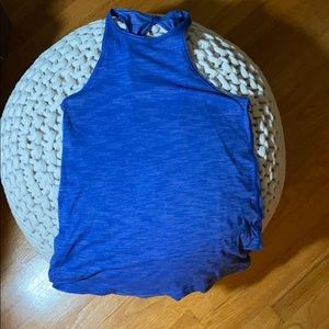 Lululemon high neck tank top
